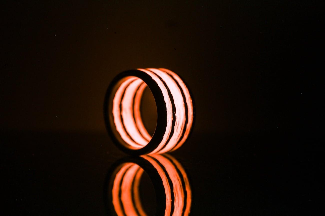 Triton Carbon Fiber Glow Rings  Gadget Flow