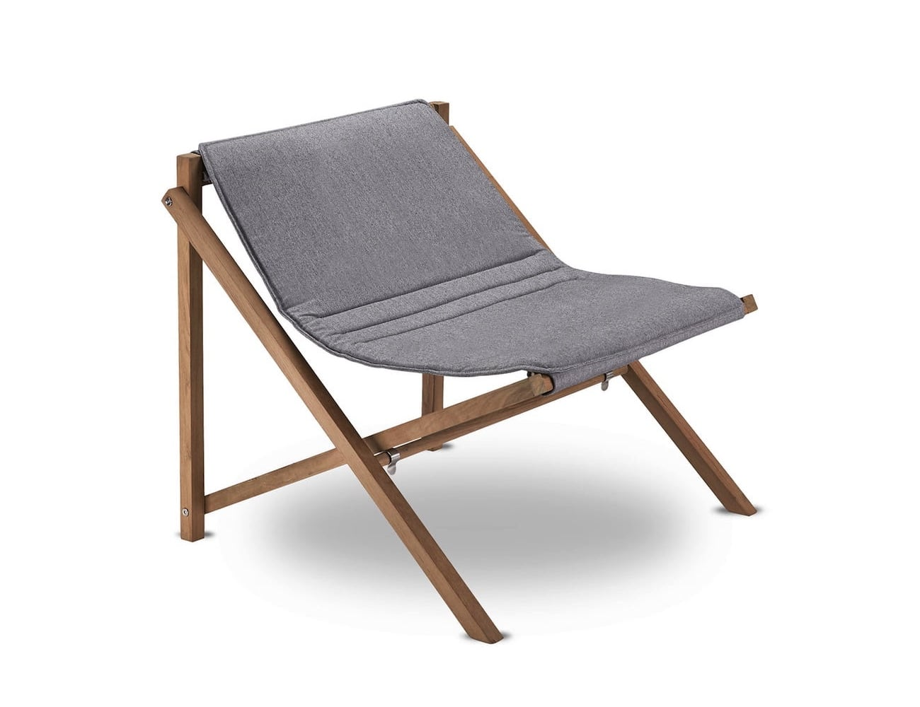Folding Lounge Chair Skagerak Aito Foldable Lounge Chair