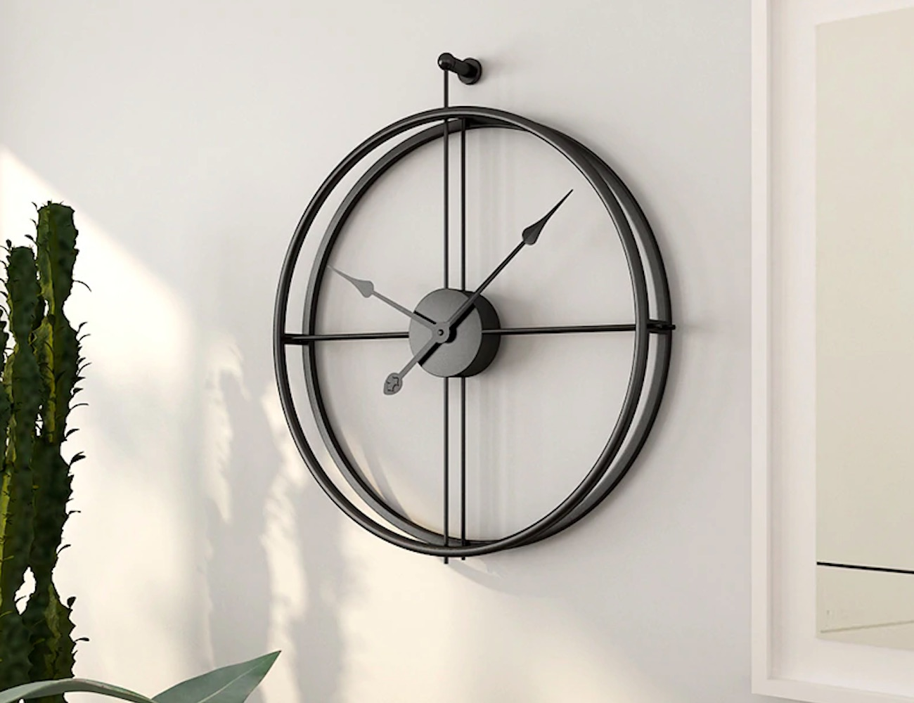 This Beautiful Wall Clock Is Equal Parts Sophistication