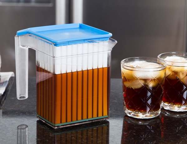 Drink-cooling Pitcher Works In Three Quick Steps