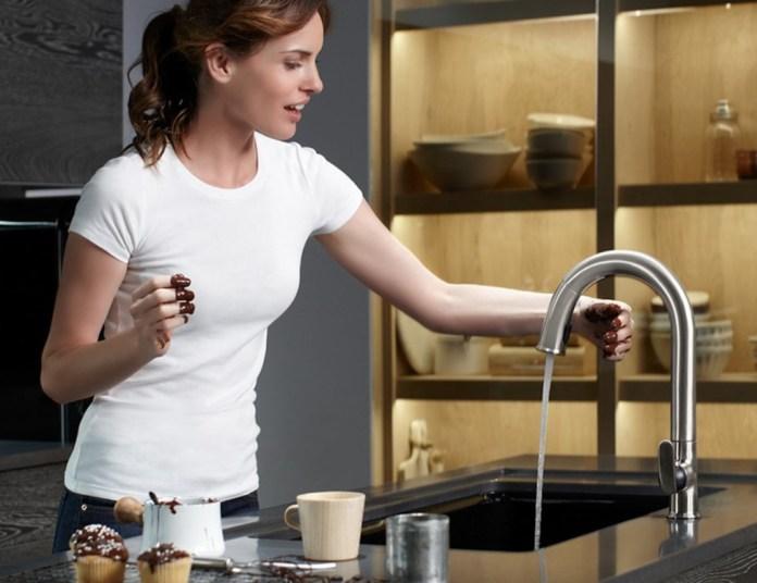 Kohler smart faucet is voice activated