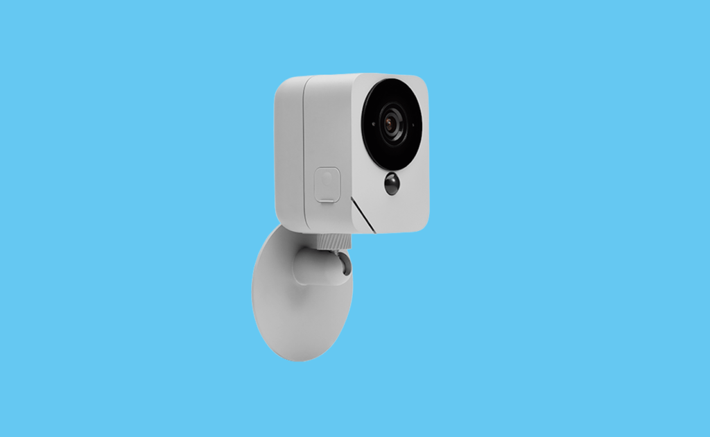 """Rechargeable outdoor security camera blue """"width ="""" 1024 """"height ="""" 630"""