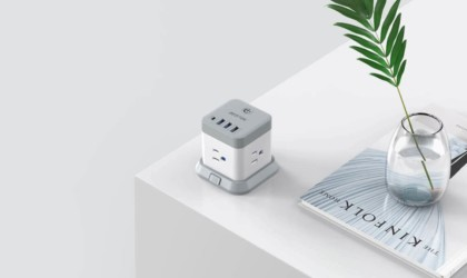 BESTEK Mountable USB Power Strip Cube