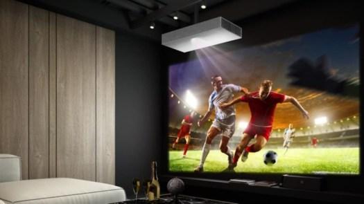 LG HU85LA CineBeam Smart Laser Projector