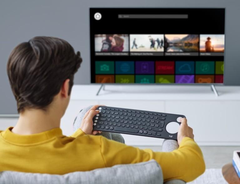 Logitech K600 Smart TV Keyboard