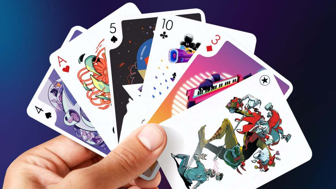 Playing Arts Deck of Artistic Playing Cards