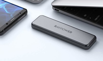 RAVPower Mini External Portable SSD Hard Drive