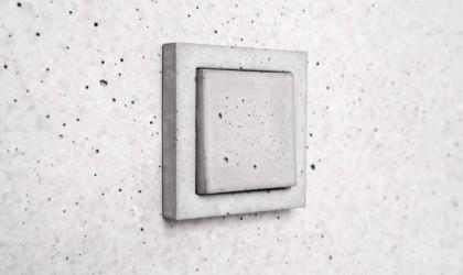 Sekhina Concrete Wall Switch Plates