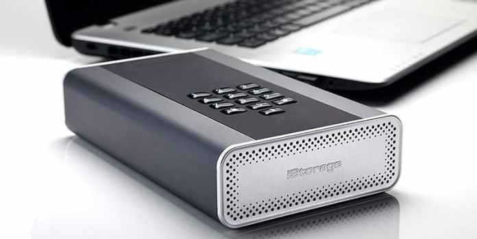 iStorage diskAshur DT2 Encrypted Desktop Hard Drive
