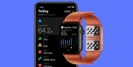 AURA Strap Smart Apple Watch Band