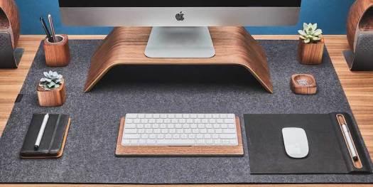 Grovemade Wool Felt Desk Pad