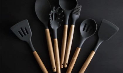 Heat-Resistant Silicone Cooking Utensils