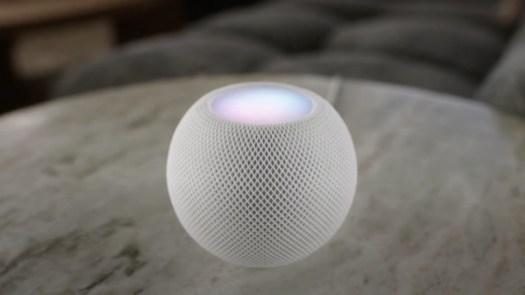 Apple HomePod mini smart speaker