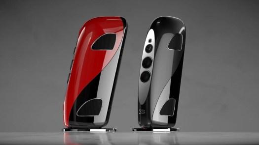 Bugatti & TIDAL Audio Royale speaker