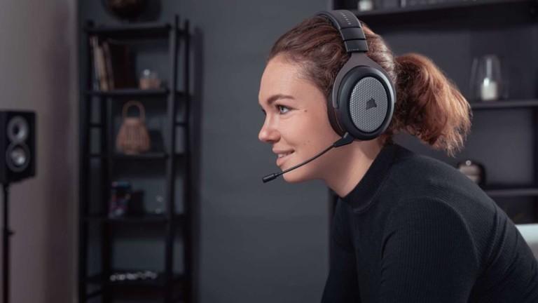 CORSAIR HS75 XB wireless gaming headset
