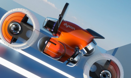 Dyson concept motorcycle