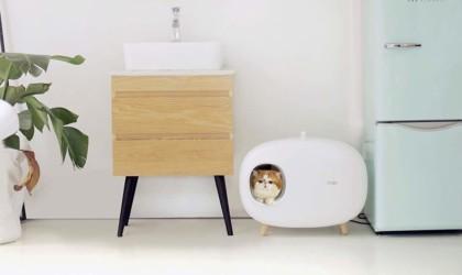 Makesure Modern Cat Litter Box