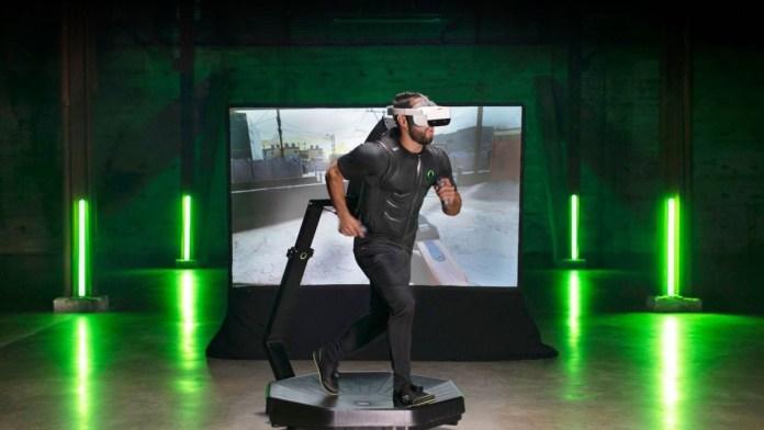 Virtuix Omni One VR treadmill