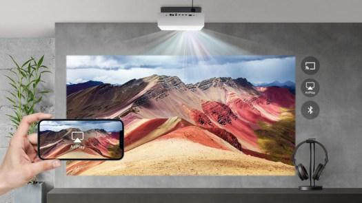 LG HU810P 4K UHD laser projector