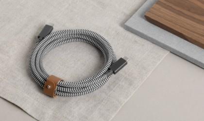 Native Union Belt Cable Pro laptop charger.