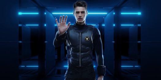 bHaptics TactSuit X40 full-body haptic suit