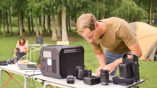 OmniCharge Omni Off-Grid Portable Camping Power Station