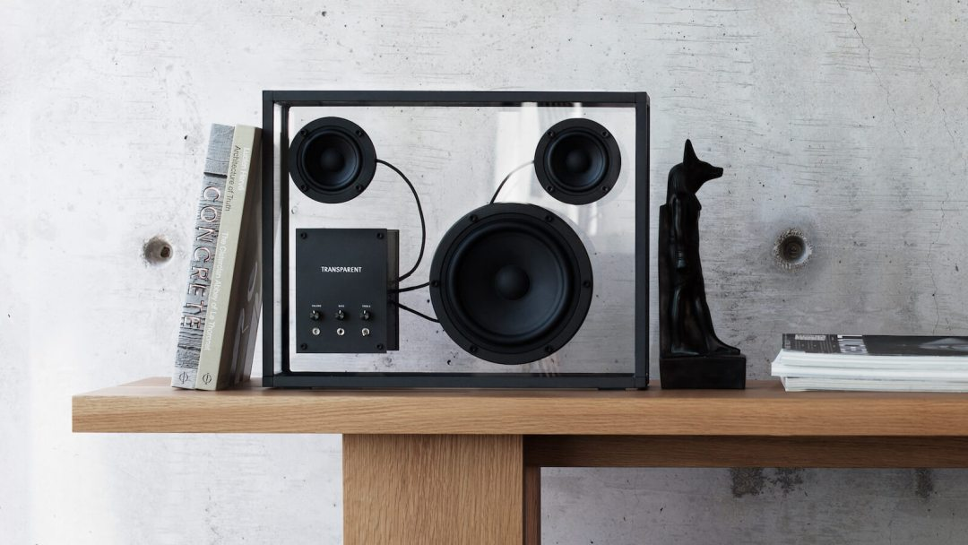 Transparent Bluetooth Loudspeaker