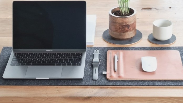 WorkPerch minimalist workspace accessories