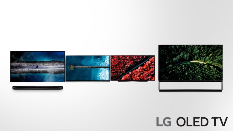 lg-oled-tv-2019-adopting-more-powerful-ai-4-w9-e9-c9-z9-from-the-left-side