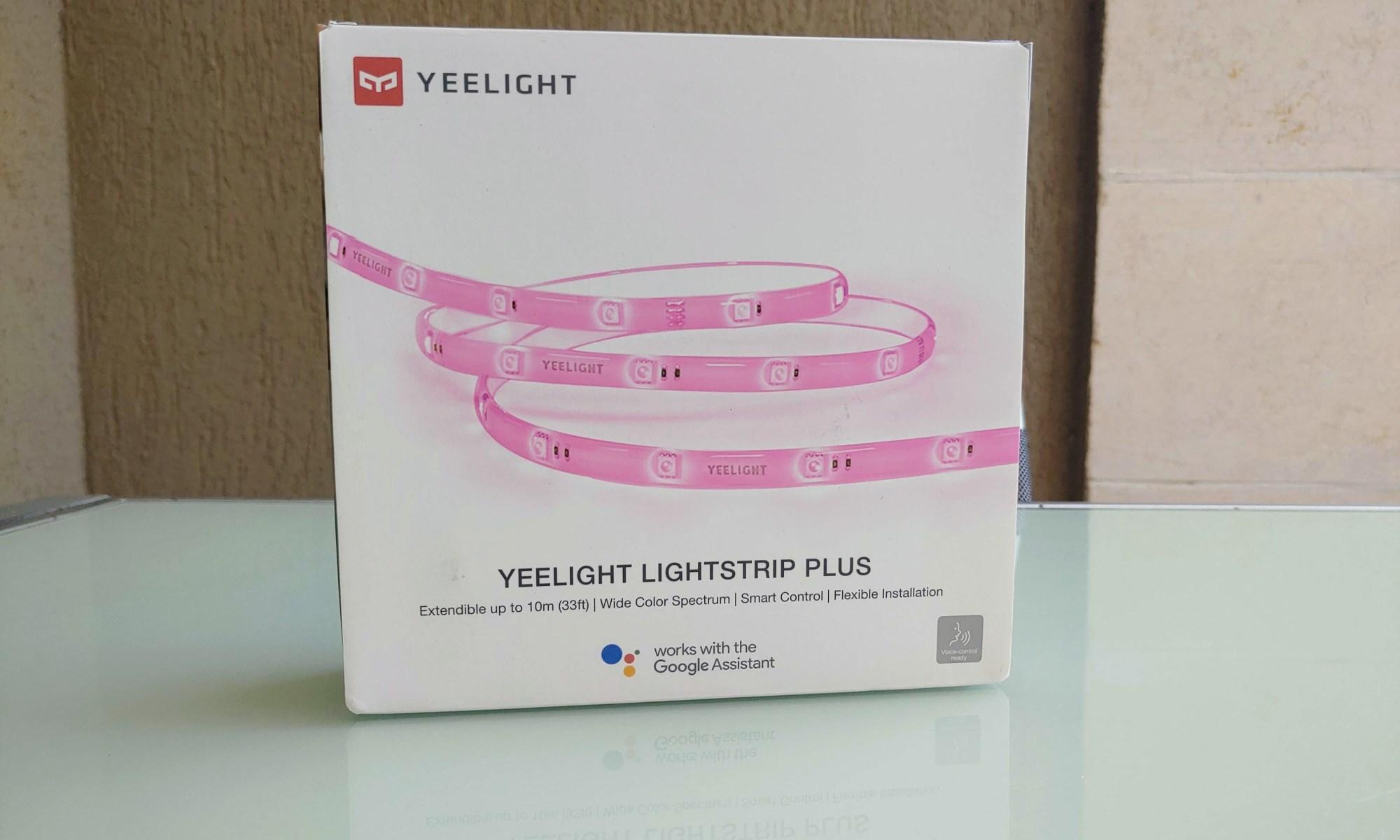 תאורה חכמה Yeelight. צילום צחי הופמן