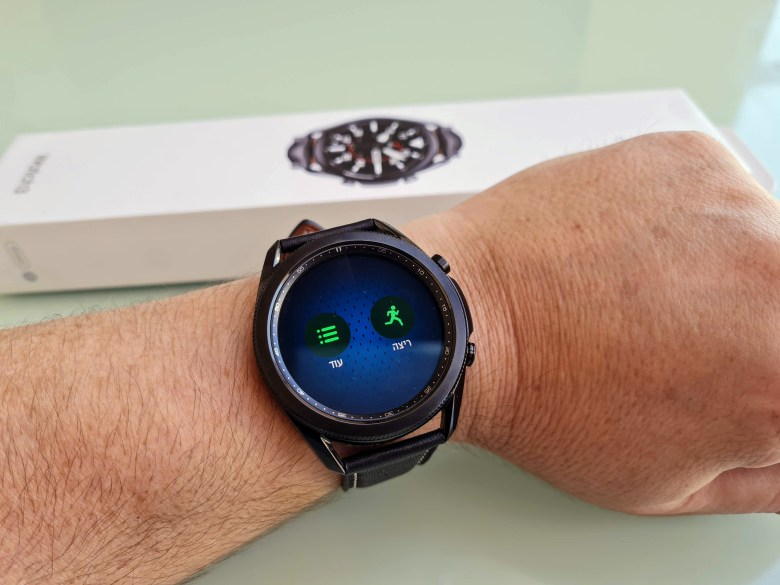 סמסונג Galaxy Watch 3. צילום צחי הופמן