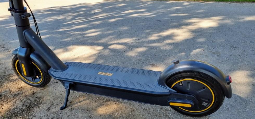 Ninebot-MAX G30. צילום צחי הופמן