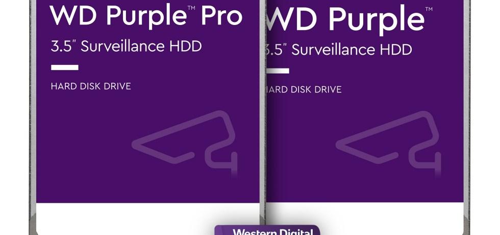 WD Purple Pro. צילום WD