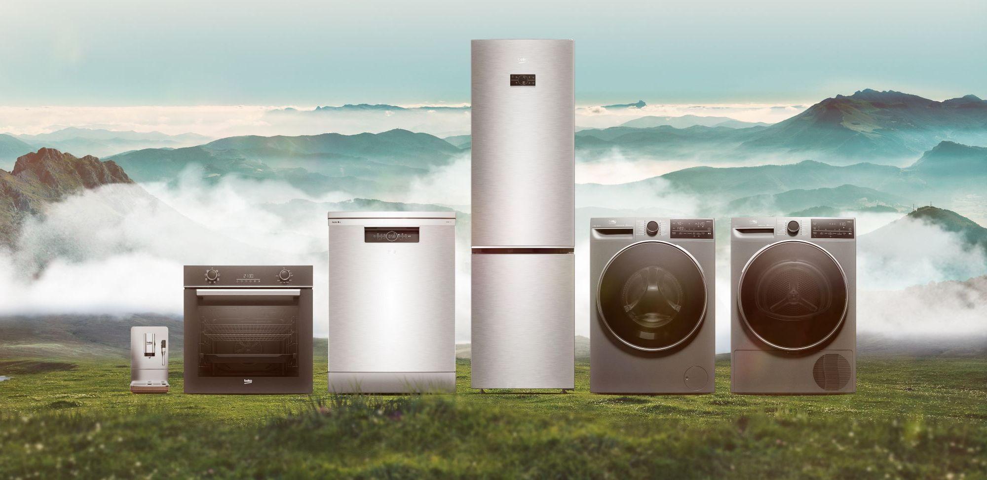 """מוצרים ידידותיים לסביבה של Beko. צילום יח""""צ"""