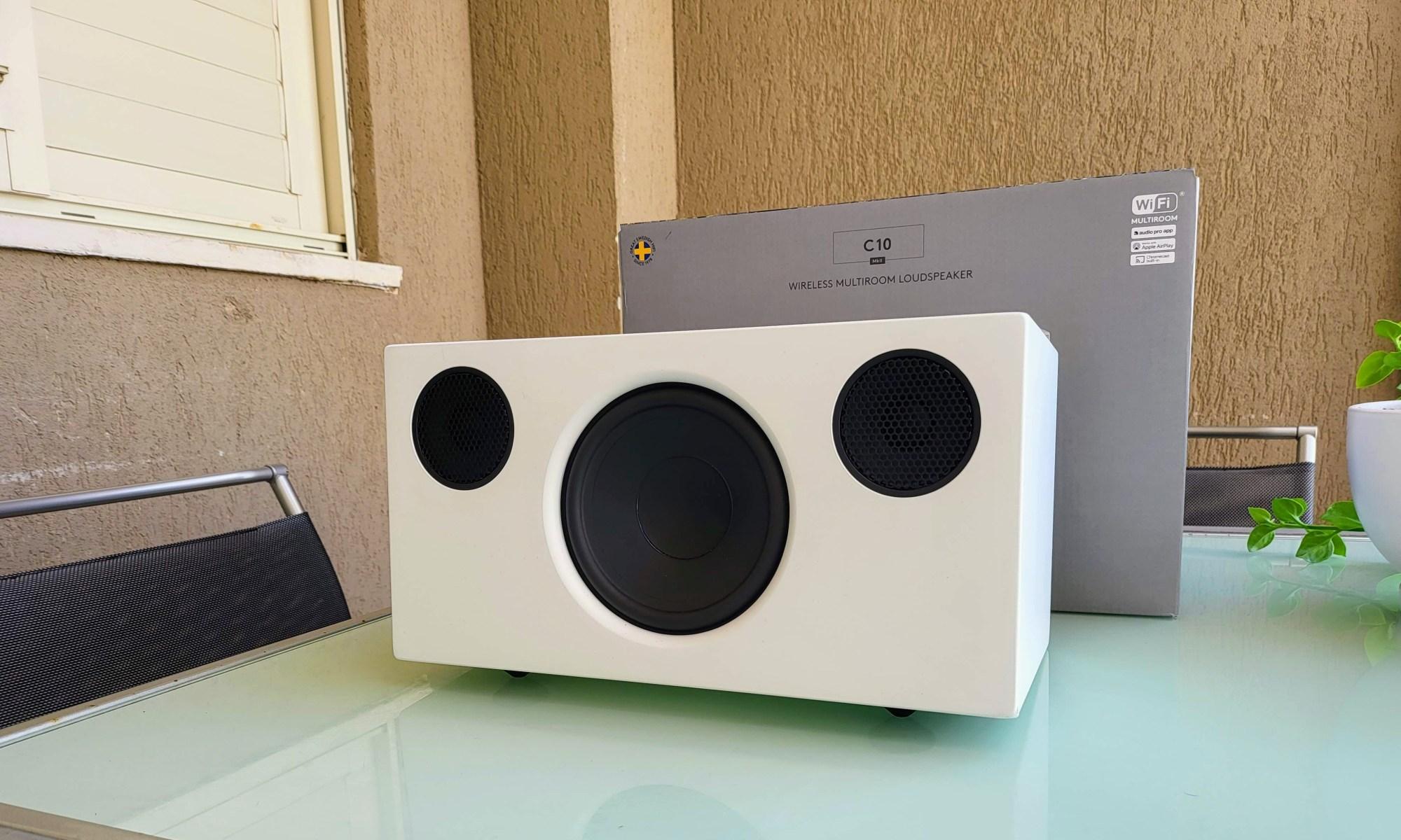 audio pro C10 MKII. צילום צחי הופמן