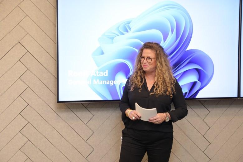 """מנכ""""לית מיקרוסופט ישראל, רונית אטד. צילום ענבל מרמרי"""