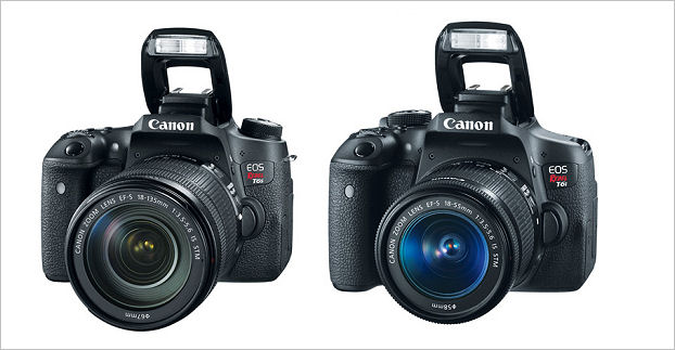 Canon Eos Rebel Series T6s T6i Dslr Cameras Review