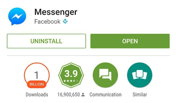 """Google releases """"messenger"""" app for android that may replace hangouts."""