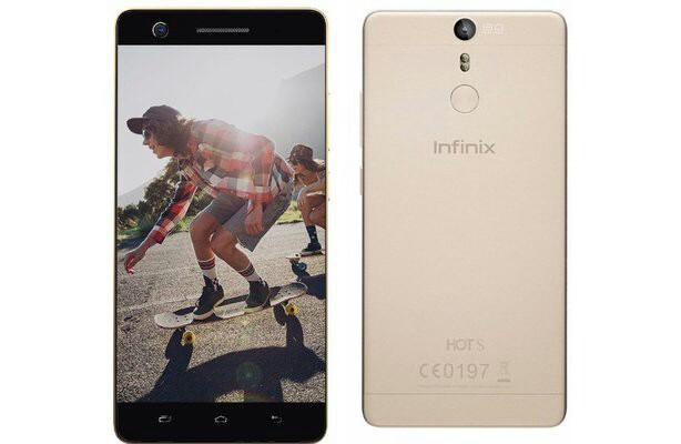 Infinix Hot S X521: Infinix's First Smartphone with Fingerprint Scanner Starts at N45,500
