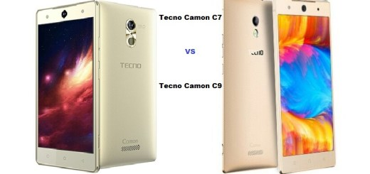 Tecno Camon C7 vs Camon C9: Specs Comparison