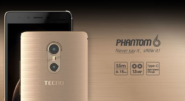 Tecno Phantom 6 Specifications and Pricing