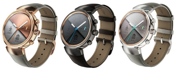 ASUS Zenwatch 3 Android Wear Smartwatch with Round Display