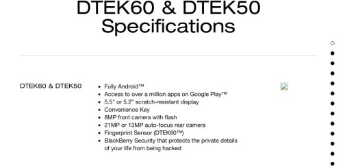 BlackBerry Argon Could be released as the DTEK60