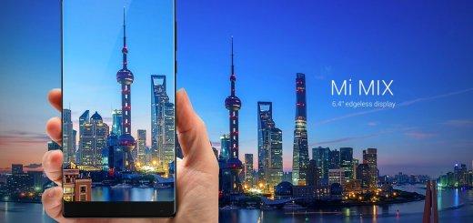 Xiaomi Mi MIX with 6.4-inch bezel-less display, Snapdragon 821, 6GB RAM, ceramic body announced