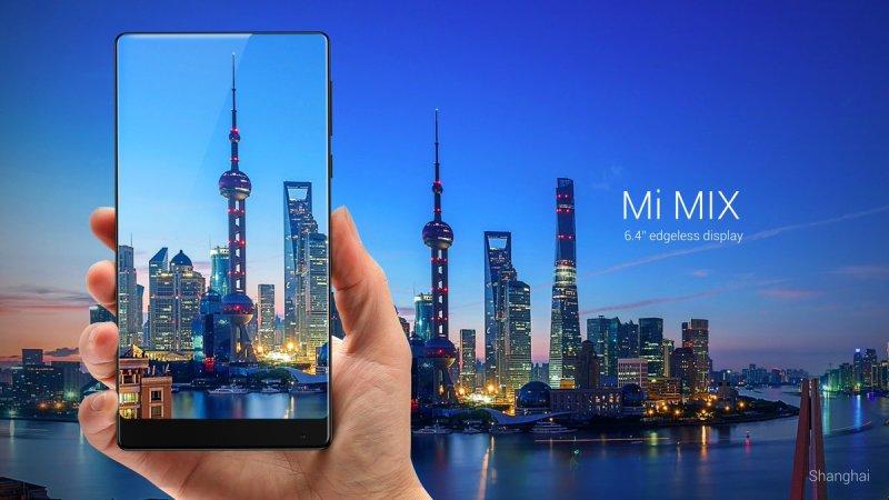 Xiaomi Mi MIX: 6.4-inch bezel-less display, SD821SoC, 6GB RAM