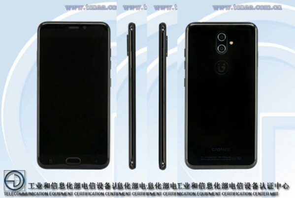 Gionee S9, Gionee S9T with Dual Rear Cameras, 4GB RAM Certified in China