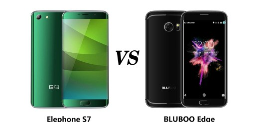 BLUBOO Edge vs Elephone S7: Battle of the Curves