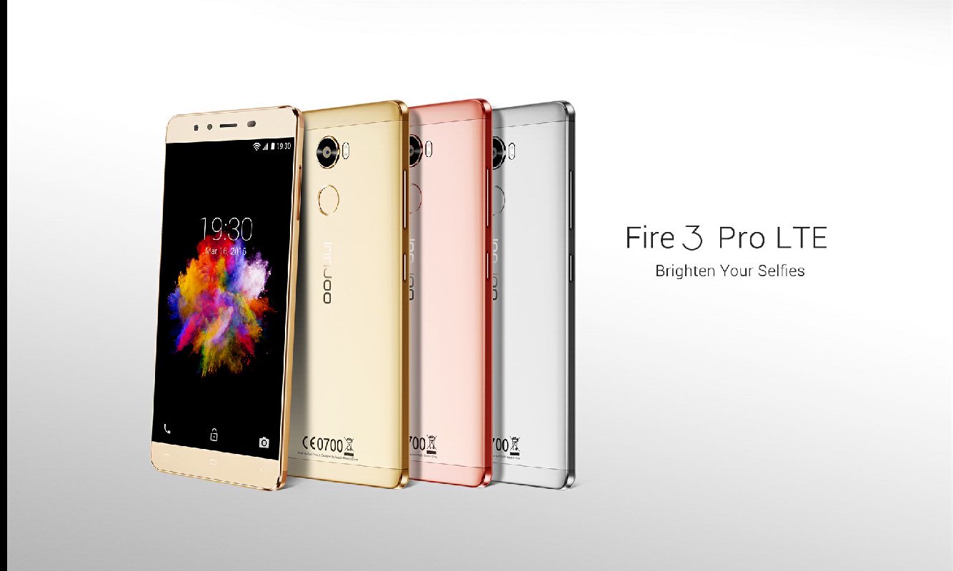 Innjoo Fire 3 Pro LTE Debuts with 3GB RAM, 32GB Built-in Storage