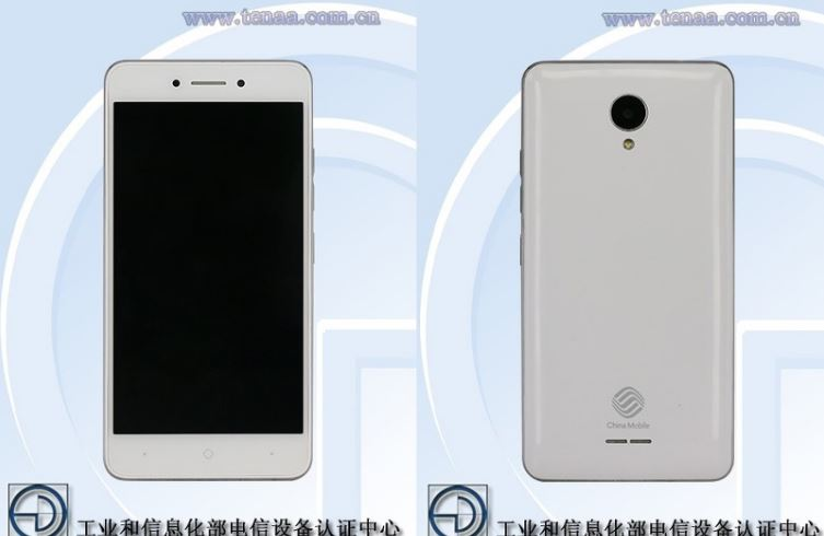 Entry-Level China Mobile M561Y with YunOS spotted on TENAA