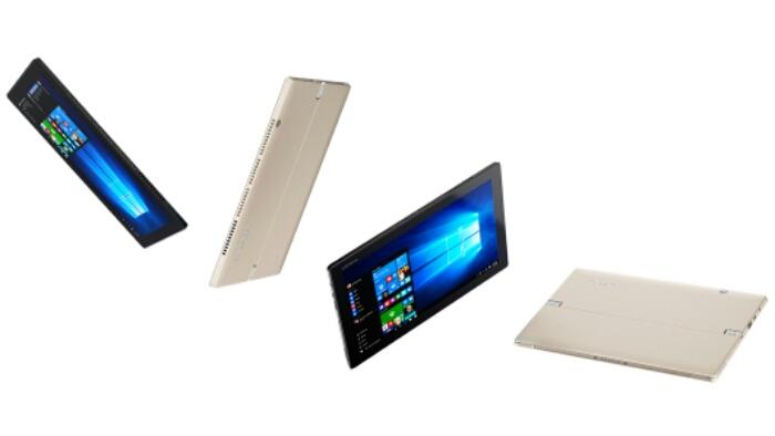 Official: Lenovo Miix 720 With Intel Kaby Lake-U SoC, Windows 10 Pro